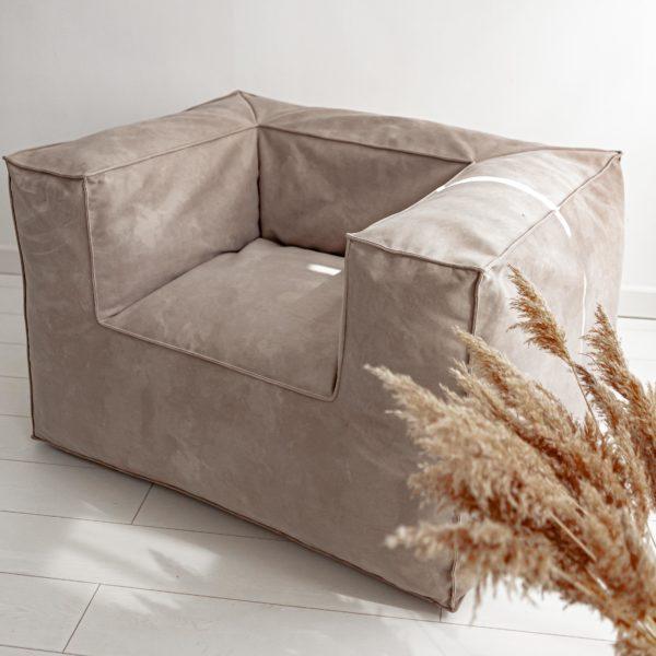 Кресло с подлокотниками Flat Velur