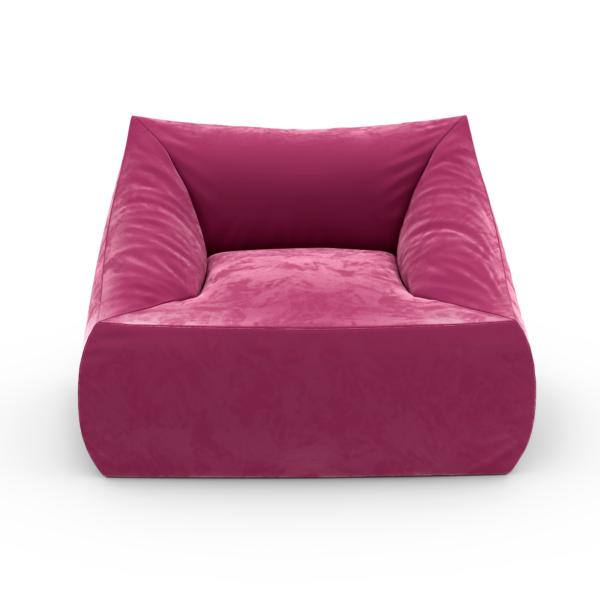 Кресло с подлокотниками Angle Velur