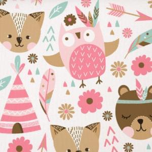 Котики-медведики розовые